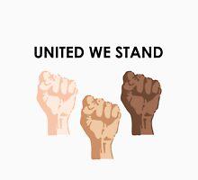 UNITED WE STAND (Black Font) Unisex T-Shirt