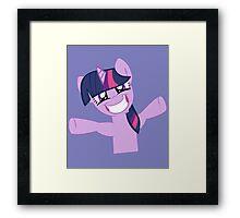 Hugs for Twilight? Framed Print