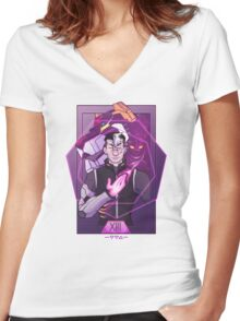 Shiro // Death Women's Fitted V-Neck T-Shirt