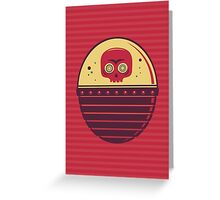 Skull Tank Greeting Card