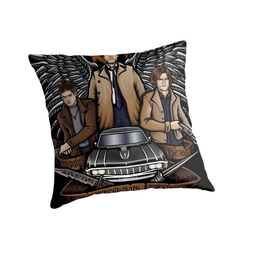 Hunters - Pillow and Tote by TrulyEpic