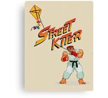 Street Kiter Canvas Print