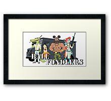 Ball Fondlers Framed Print