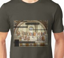 The School of Athens Modernized Unisex T-Shirt