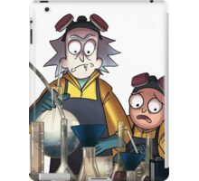 Breaking Bad Rick and Morty iPad Case/Skin