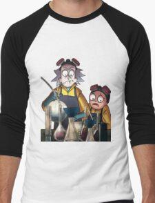 Breaking Bad Rick and Morty Men's Baseball ¾ T-Shirt