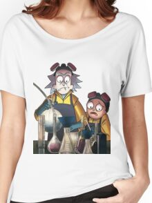 Breaking Bad Rick and Morty Women's Relaxed Fit T-Shirt