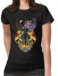 One Winged Angel Womens Fitted T-Shirt