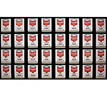 Campbell's Soup Cans Modernized Photographic Print