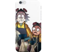 Breaking Bad Rick and Morty iPhone Case/Skin