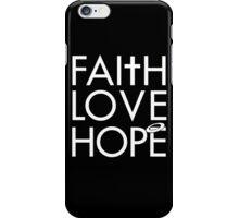 FLH wht iPhone Case/Skin