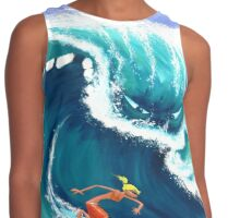 The Big Wave Contrast Tank