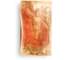 Ancient painting of a Cherub on a stucco wall Photographed in a Monastery in Assisi, Italy  Metal Print