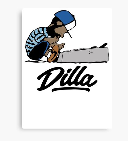 J Dilla t-shirt - Special tee for fan Canvas Print