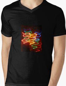 Light snakes Mens V-Neck T-Shirt
