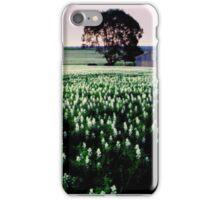 lupin field  iPhone Case/Skin