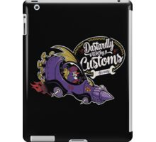 dastardly wacky customs iPad Case/Skin