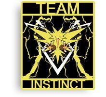 Team Instinct Vector Canvas Print