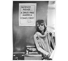 Drug Free America - Halftone Series Poster