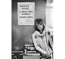 Drug Free America - Halftone Series Photographic Print