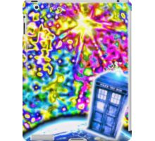 Tardis in a Psychedelic Universe iPad Case/Skin