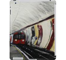 London Underground Wood Green Urban Cityscape Contemporary Acrylic Painting iPad Case/Skin