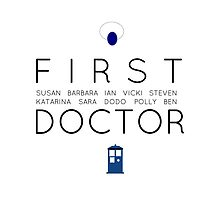 First Doctor Minimalist by karlimeaghan