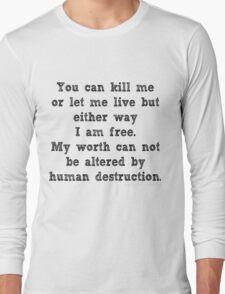 My Freedom Long Sleeve T-Shirt