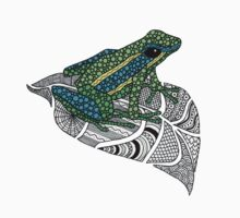 Frog on a leaf One Piece - Long Sleeve