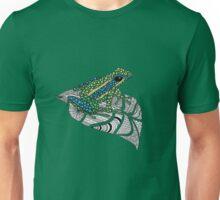 Frog on a leaf Unisex T-Shirt