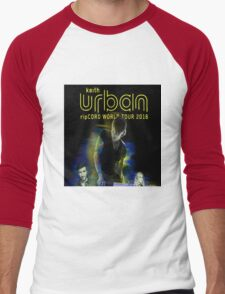 keith urban ripcord world tour 2016 Men's Baseball ¾ T-Shirt