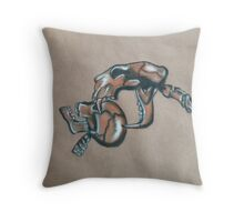 The Jaws of Death  Throw Pillow