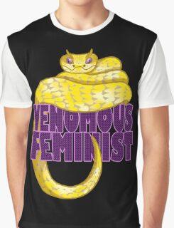 Venomous Feminist Graphic T-Shirt