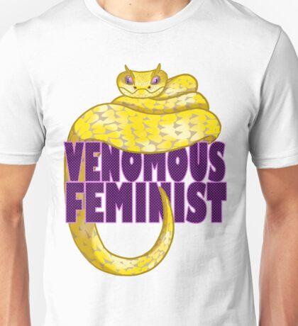 Venomous Feminist Unisex T-Shirt