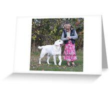 English Labradors from Loyal Labradors Greeting Card