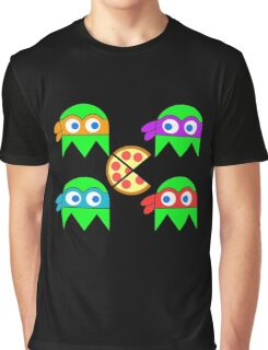 Teenage Ninja Ghosts Graphic T-Shirt