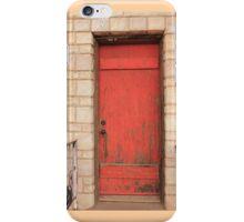 Red Door iPhone Case/Skin