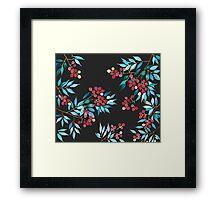 Patterns Everyday_ Lychee| litchi Season Framed Print