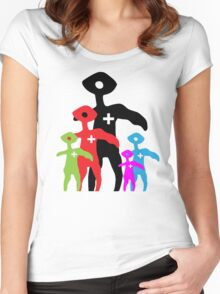 Squinty Family Women's Fitted Scoop T-Shirt