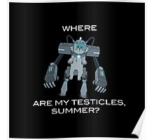 Where are My Testicles, Summer? Poster