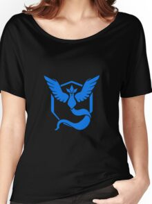 Pokemon go Team Mystic Women's Relaxed Fit T-Shirt