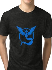 Pokemon go Team Mystic Tri-blend T-Shirt