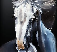 Horse Ghost by BluedarkArt
