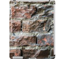 Old brick wall background  iPad Case/Skin