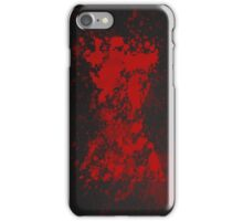 Red on my Ledger iPhone Case/Skin
