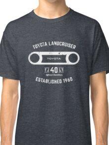 Toyota 40 Series Landcruiser FJ40 Round Bezel Est. 1960 Classic T-Shirt