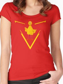 Team Big Bird Women's Fitted Scoop T-Shirt