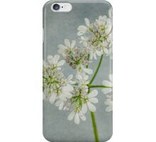 The Bloom of the Coriander iPhone Case/Skin