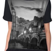 LONDON Westminster Bridge at Sunset| Colorkey Chiffon Top