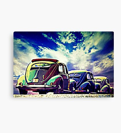 Rolling stock Canvas Print